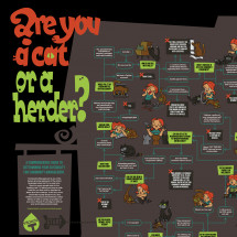 Are you a cat or a herder? Infographic