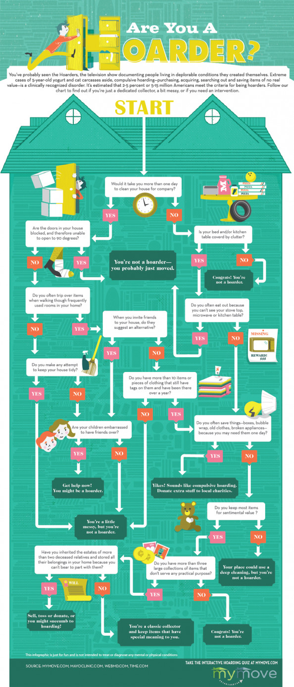 Are You a Hoarder? Infographic