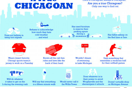 Are you a True Chicagoan? Infographic