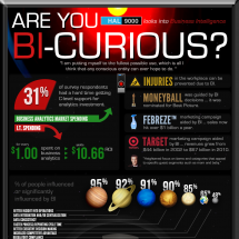 Are You Bi-Curious? (About Business Intelligence) Infographic