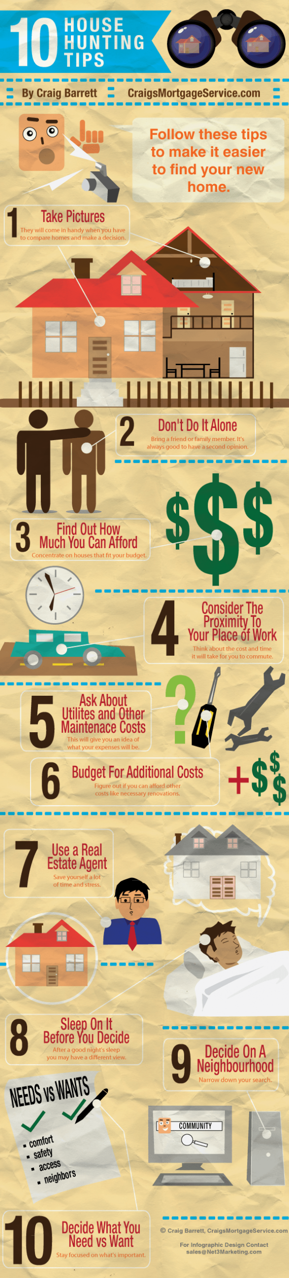 10 House Hunting Tips