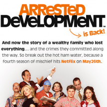 Arrested Development: Arrests in Development Infographic