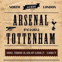 Arsenal V. Tottenham: The North London Rivalry Illustrated  Infographic