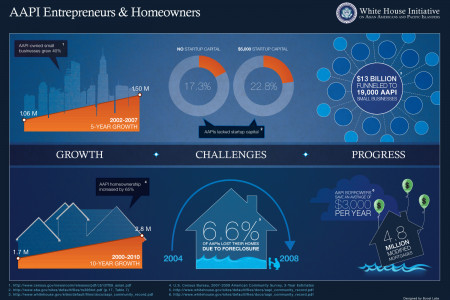 Asian American / Pacific Islander Entrepreneurs  Infographic