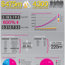 .au - Australia's Home On The Internet Infographic