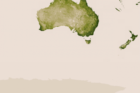 Vegetation of Australia and the Pacific  Infographic