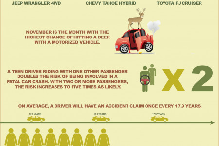 Auto Accident Stats Infographic