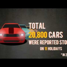 Auto Thefts in the US Infographic