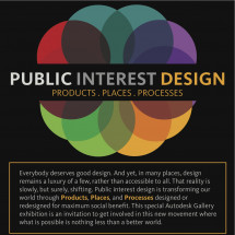 Public Interest Design: Products, Places, Processes Infographic