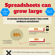 Avoid spreadsheet errors Infographic