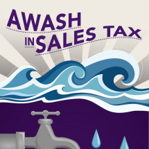 Awash in Sales Tax Infographic