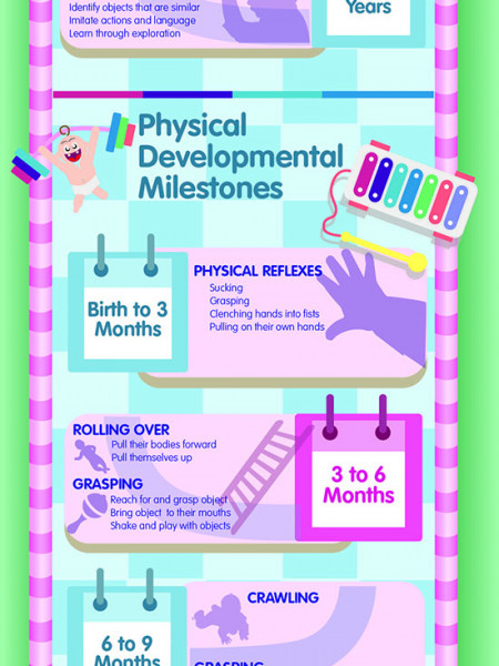 Baby's First 2 Years Infographic