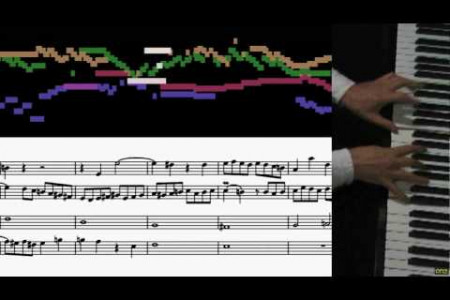 Bach, Contrapunctus 9, Art of Fugue Infographic