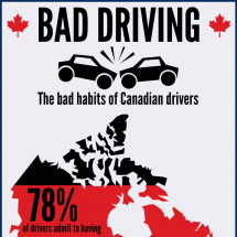 Bad Driving Habits Infographic