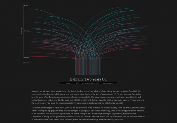 Bahrain: Two Years On Infographic