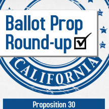 Ballot Prop Round-up: California Infographic
