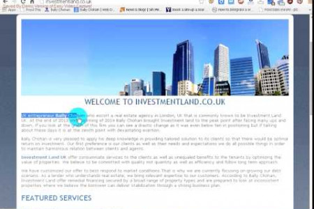 Bally Chohan - Investment Land Uk Infographic