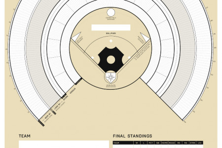 Baseball Season Tracker Infographic