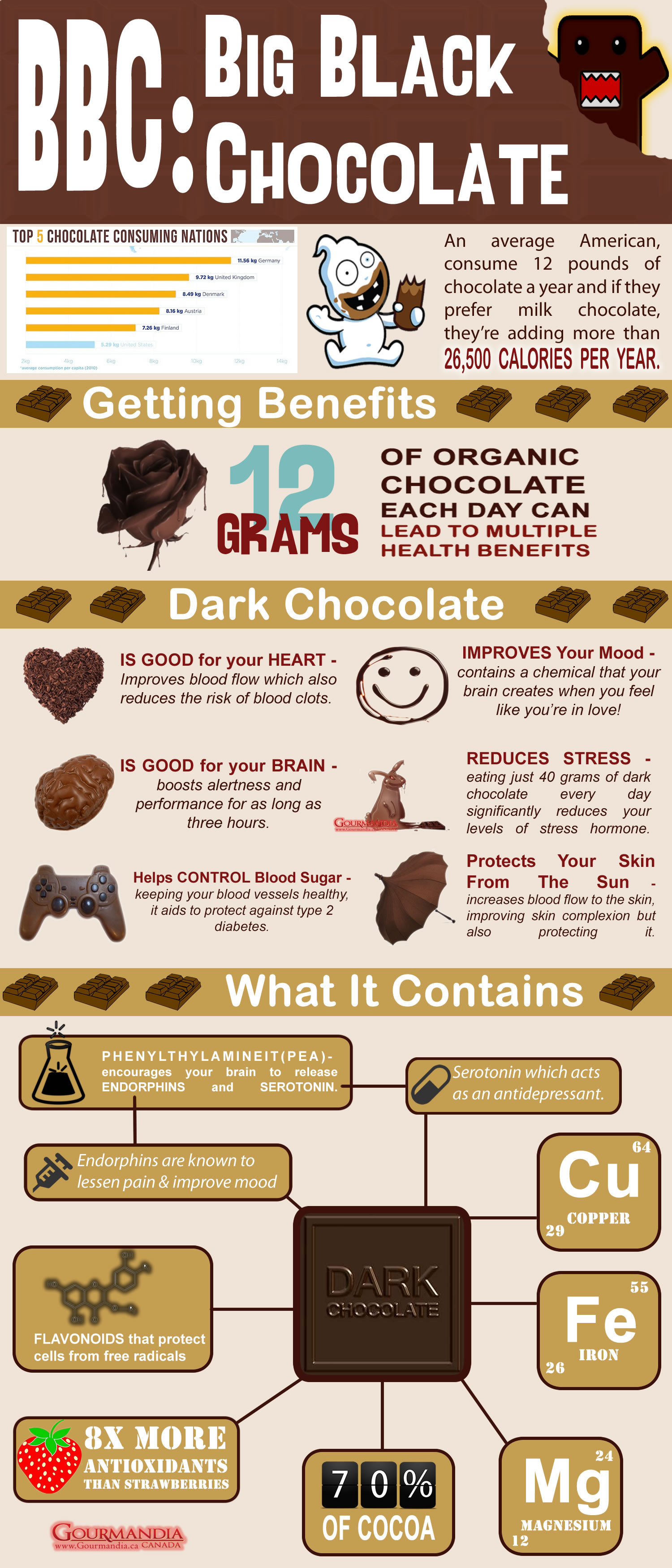BBC Big Black Chocolate Infographic