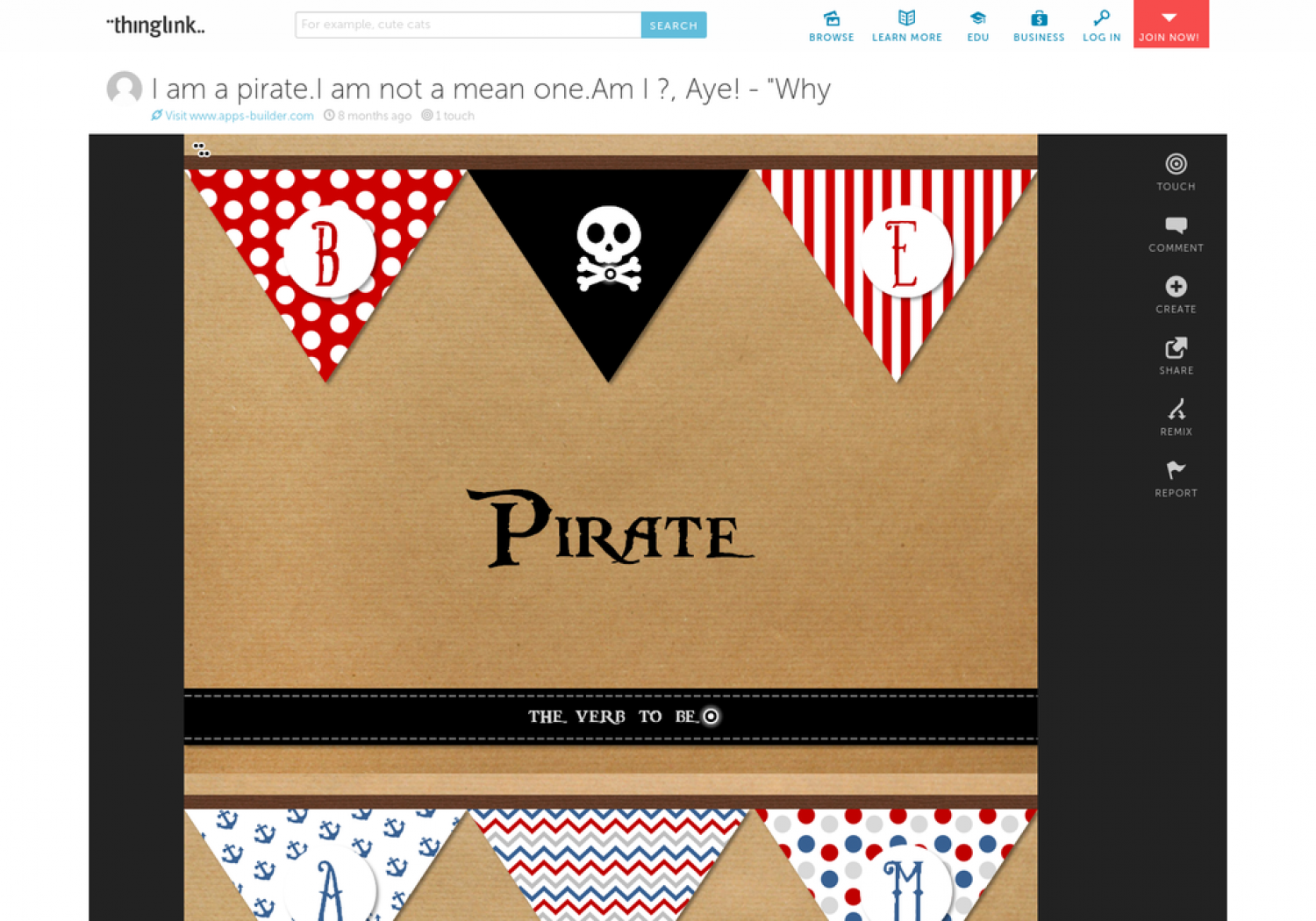 Be Pirate Infographic