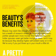 Beauty's Benefits Infographic