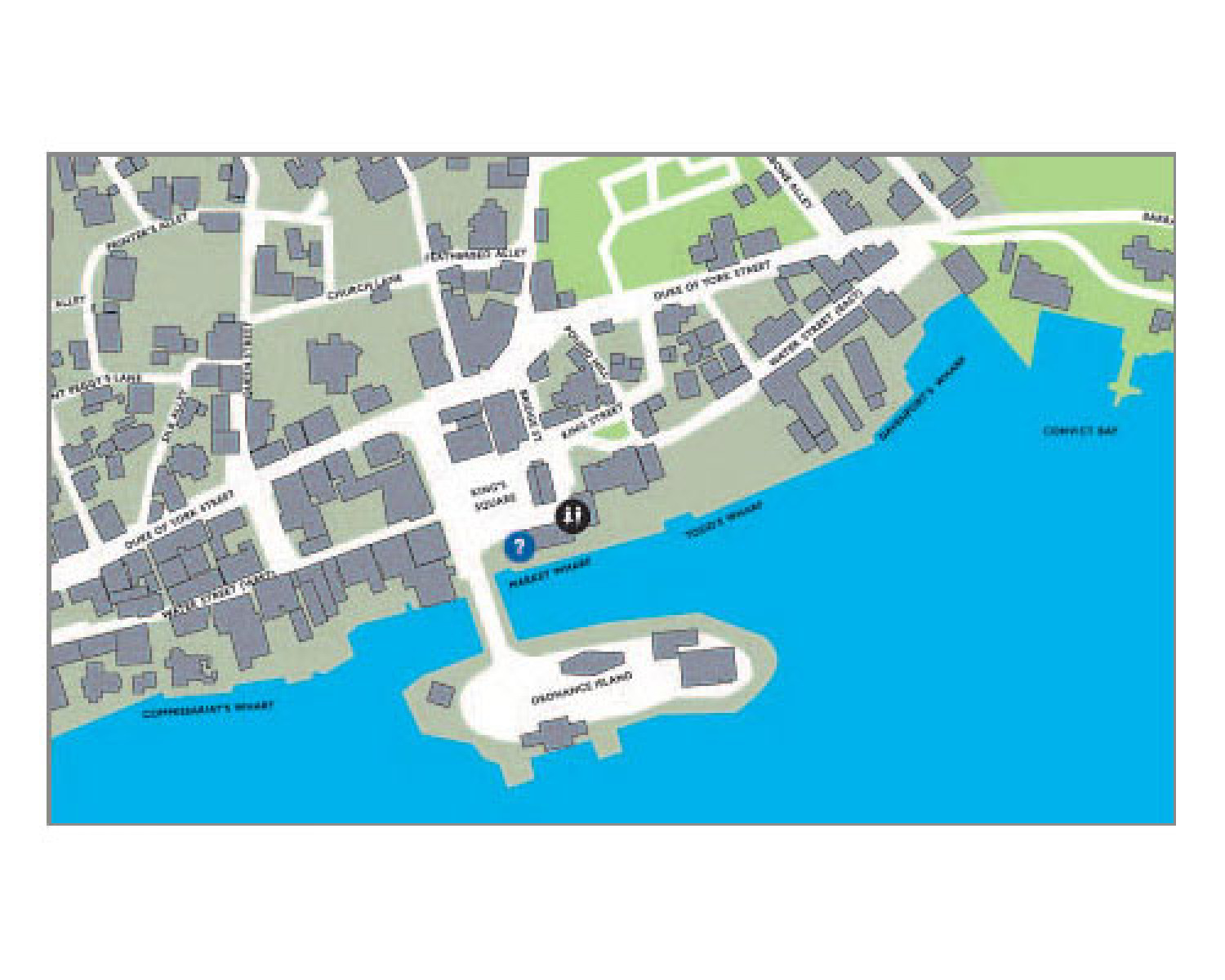 Bermuda City Map Infographic