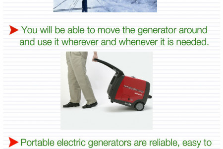 Best Portable Generators Infographic