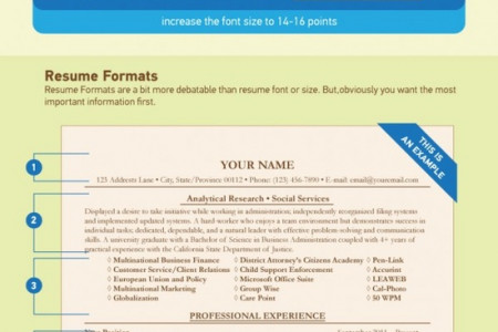 Best Resume Formats Infographic