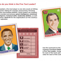 Better Leader? Bush vs. Obama Infographic