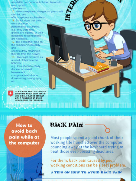 Beware of These Internet Illnesses  Infographic