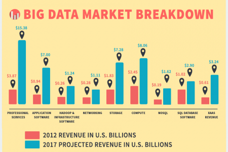 Big Data Analytics & Analytics Companies on the Rise Infographic