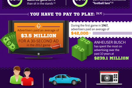 Big Numbers for the Big Game Infographic
