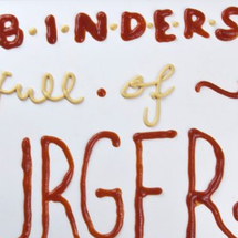Binders full of Bugers Infographic