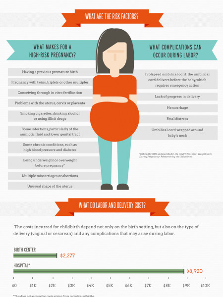 Birth Settings in the U.S.  Infographic