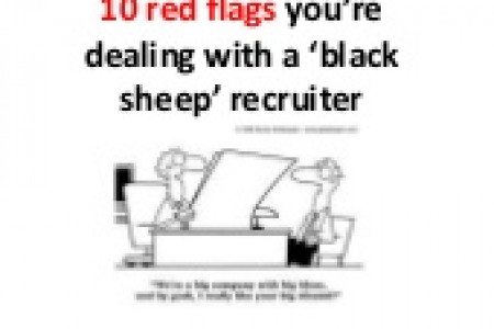 Black Sheep Recruiters Infographic