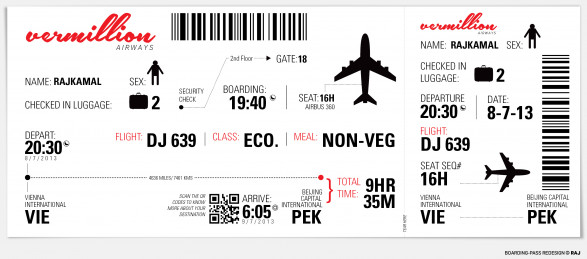 boarding pass ( concept)