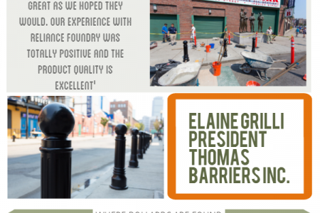 Bollards at Fenway Park Infographic