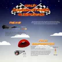 Bolt, Baumgartner & Beyond! Infographic