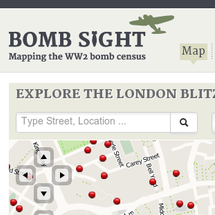 Bomb sight - Mapping the WW2 bomb census Infographic