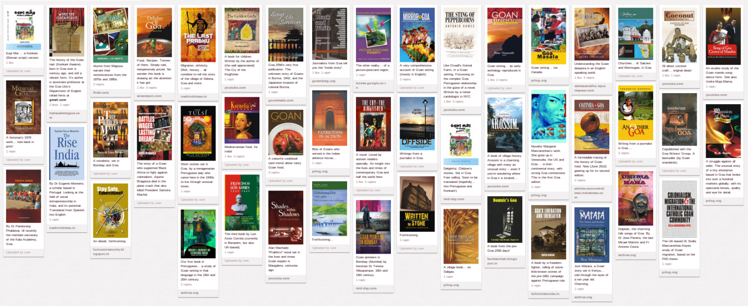 Books from Goa Infographic