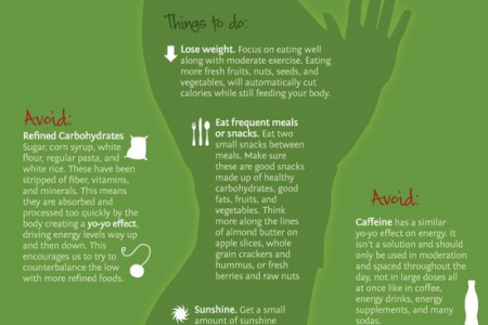 Boost Your Mood and Energy Level with Food Infographic