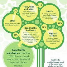 Brain Injury Explained Infographic