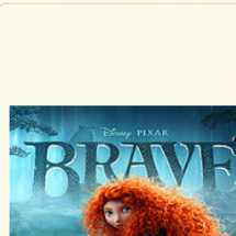 Brave(film) - filmographics Infographic
