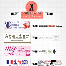 Bread and Butter 2012 - FUN FACTS - Fashion brand Naming Infographic