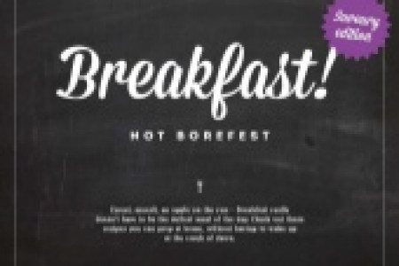 Breakfast not Borefest: Savoury Edition Infographic