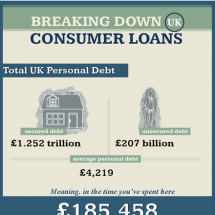 Breaking Down Consumer Loans Infographic
