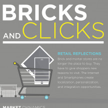 Bricks and Clicks  Infographic