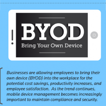 Bring Your Own Device (BYOD) Infographic
