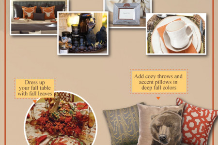 Bringing Fall Into Your Home  Infographic