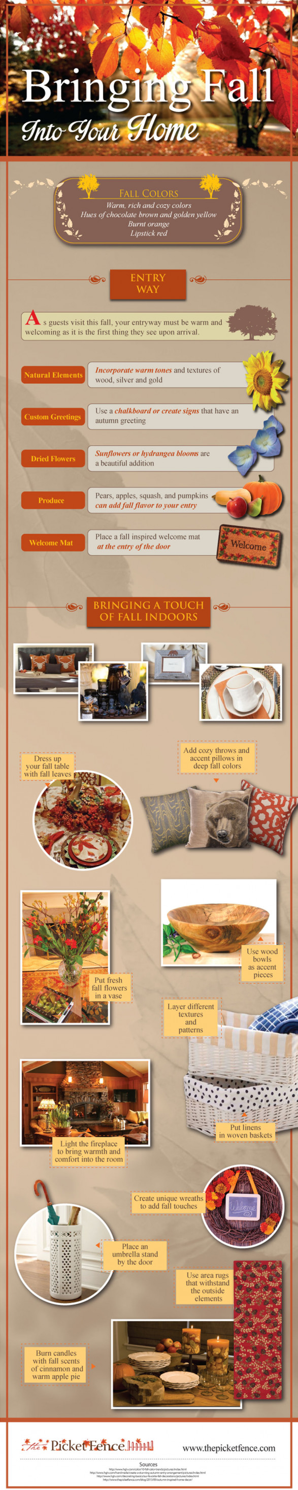 Bringing Fall Into Your Home, home design for autumn, fall home design ideas